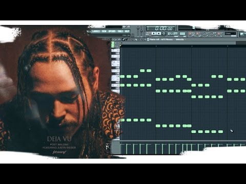 (FL Studio) Free MIDI Files - How to make Post Malone - Deja Vu type melody