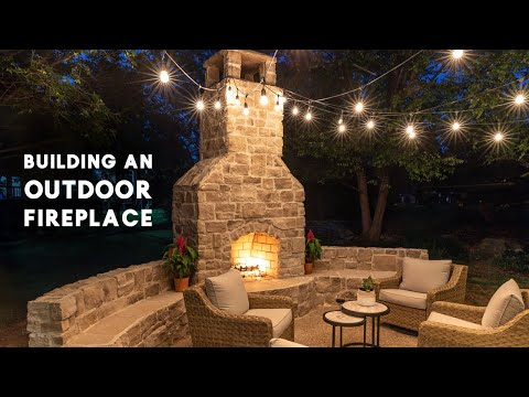Building An Outdoor Fireplace (with Tips From A Professional Mason!)