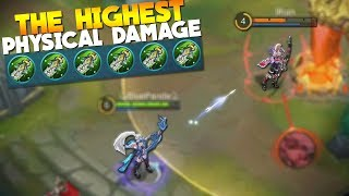 Mobile Legends Miya MAX Physical Damage! Build/Gameplay
