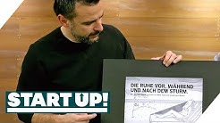 Die fertigen Plakate: Welches Briefing war am erfolgreichsten? | Start Up! | SAT.1 TV