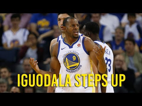 With Kevin Durant out, Andre Iguodala comes up big