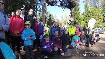 Yle Mennään Metsään polkujuoksukiertue Helvetinjärvi