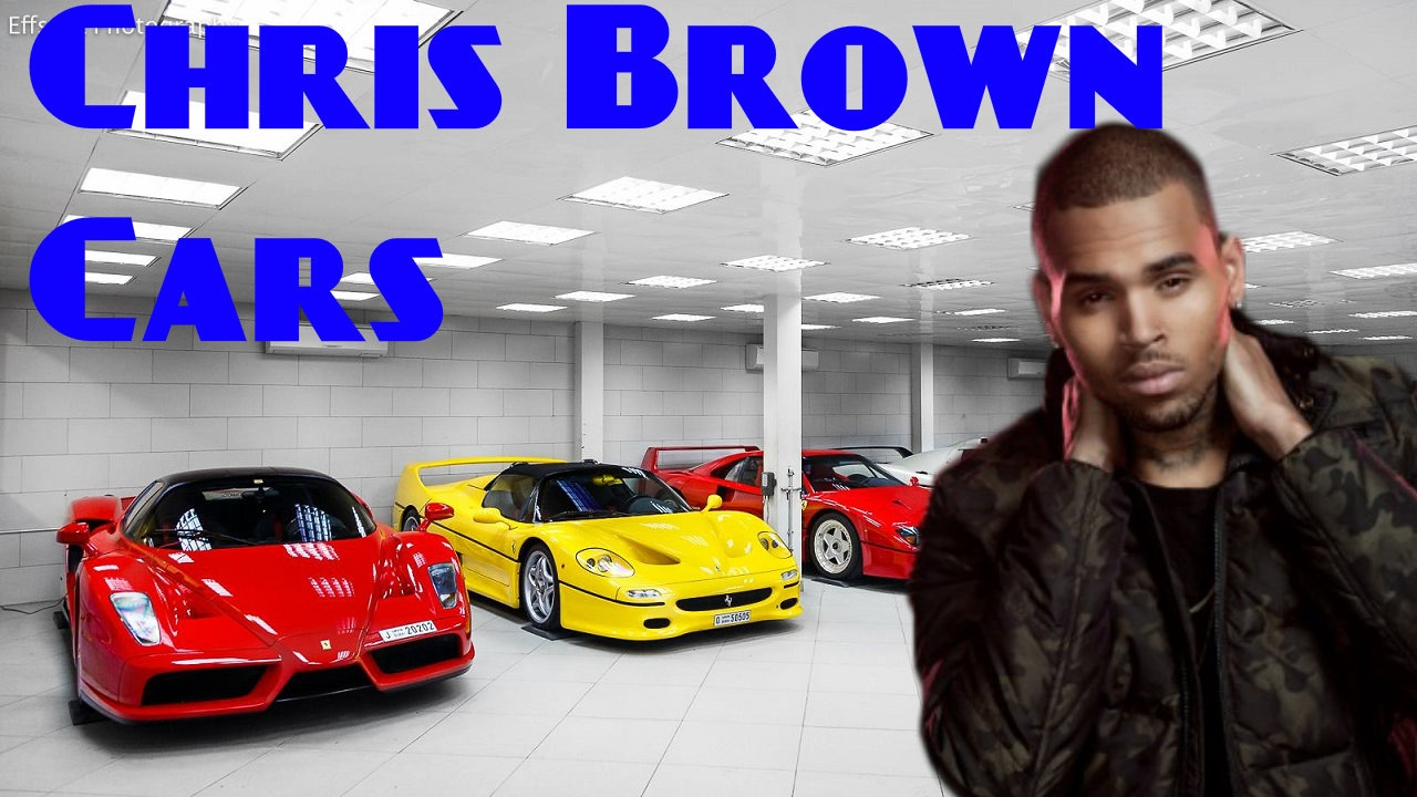 Chris Brown Car Collection 2017 | Chris Brown Net Worth ...