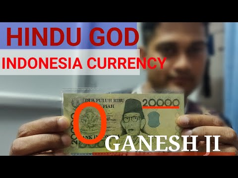 Why Lord Ganesh On Indonesia Currency | Hindu God Lord Ganesh On Foregin Currency