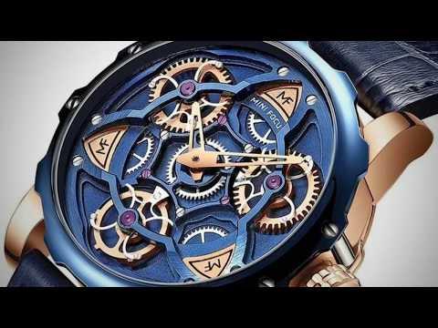 Gustavo Action Sport Skeleton Watch