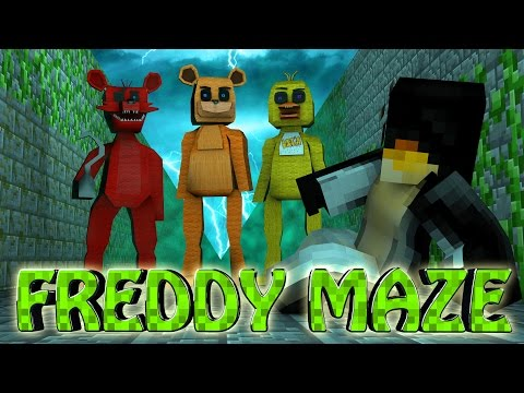Minecraft | MAZE CHALLENGE SURVIVAL - Freddy Challenge Part 2! (Five Nights at Freddy's)
