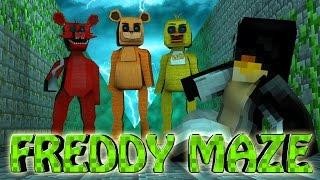 Minecraft | MAZE CHALLENGE SURVIVAL - Freddy Challenge Part 2! (Five Nights at Freddy's)