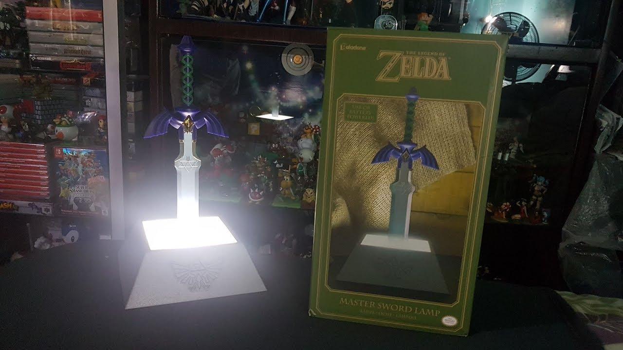 Paladone The Legend Of Zelda Master Sword Light Unboxing