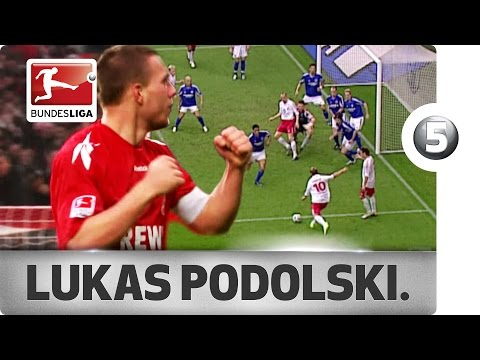 Lukas Podolski - Top 5 Goals