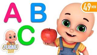 Let's Learn Fruits Name | Cartoon for kids | Jugnu kids Nursery Rhymes & Baby Songs