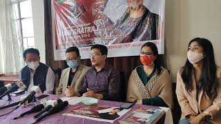 Press conference of Rabi supporting forum