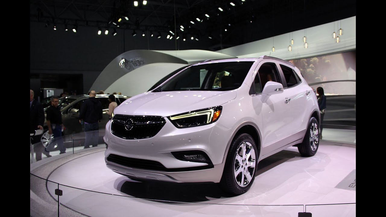 2017 Buick Encore First Look