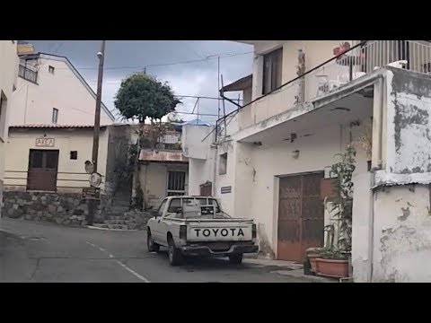 Driving Through Louvaras Village In Cyprus (Oct 13, 2018)