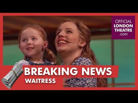 Waitress is coming to the West End!
