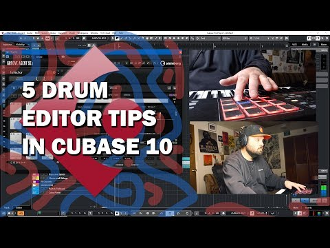 5 Drum Editor Tips in Cubase 10
