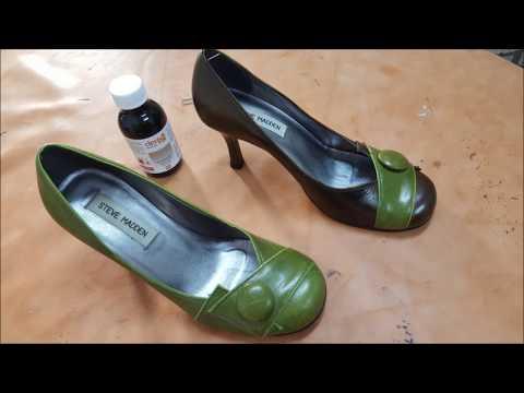 Ayakkabı, Deri Için Renk Değiştirme Uygulaması