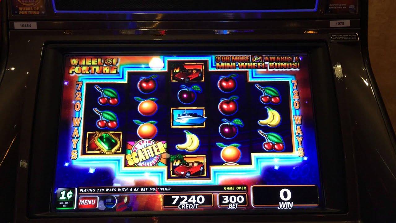 big wheel of fortune slot machine