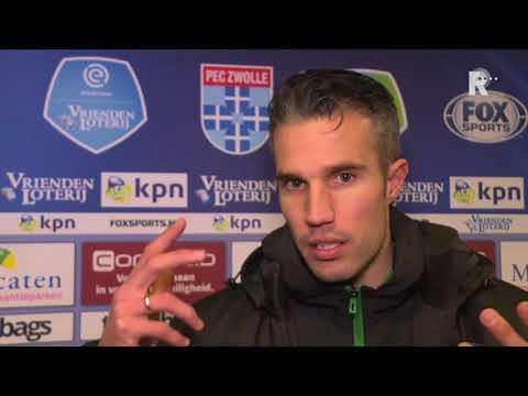 Robin van Persie na PEC-Feyenoord: 'Het werd toch nog billenknijpen'