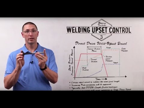 MTI Whiteboard Wednesdays: Rotary Friction Welding Upset Control- Part 3