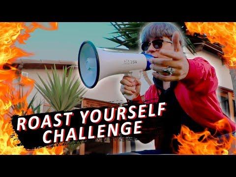 ROAST YOURSELF CHALLENGE 🔥 | Luis Arredondo