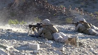 1/7 Marines Conduct Platoon Attack Drills