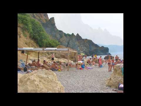 Яшмовый пляж (мыс Фиолент, Крым)