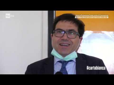 Coronavirus, i numeri di emergenza - #cartabianca 24/03/2020