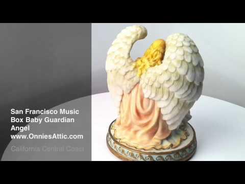 San Francisco Music Box Baby Guardian Angel