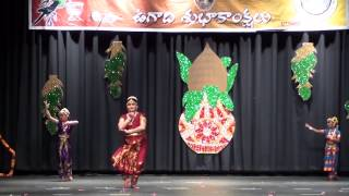 TAM Ugadi 2015 - Javali Abhinaya,Baratanatyam - Classical Dance