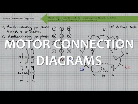 Motor Connection Diagrams (Part 1 of 2)  YouTube
