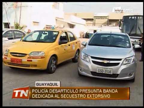 Policía desarticuló presunta banda dedicada al secuestro extorsivo
