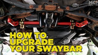 How to Upgrade your Sway Bar(, 2012-06-27T02:49:14.000Z)