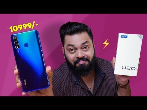 vivo U20 Unboxing & First Impressions ⚡⚡⚡ Best Budget Smartphone??