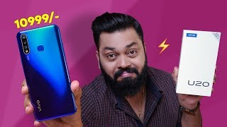 vivo U20 Unboxing & First Impressions ⚡⚡⚡ Best Budget Smartphone??