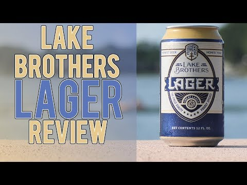 Detroit's Lake Brothers Lager Review – Trying to be Michigan's Best Regional Lager