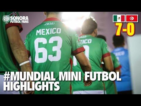Copa Mundial de Mini Futbol Túnez 2017 - México vs Túnez - Cuartos de Final