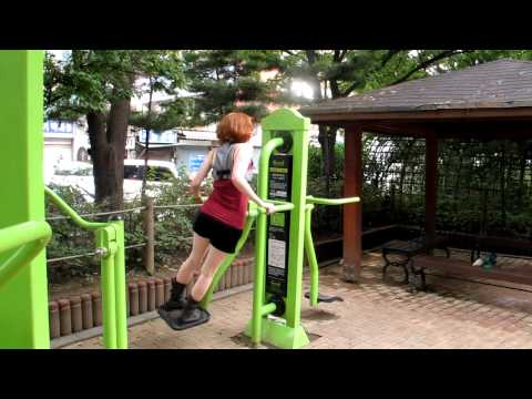 Seoul, Korea workout machines