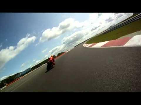 Moto GP's Cal Crutchlow vs Mirror.co.uk at Sliverstone