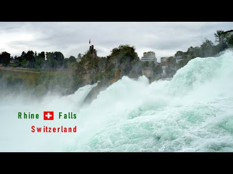 Europe's Largest Waterfall is in Switzerland | Rhein Falls