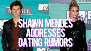 SHAWN MENDES RESPONDS TO DATING HAILEY BALDWIN RUMORS