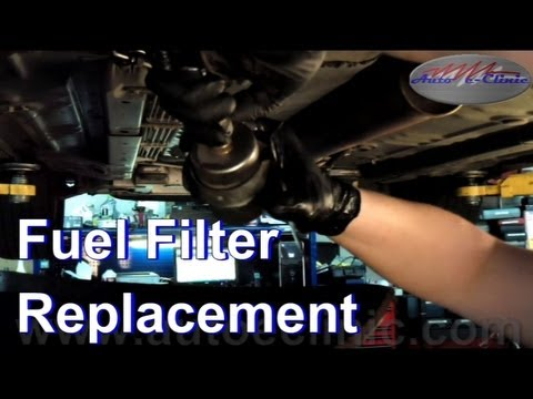 How To Replace Your Fuel Filter Example 2004 Chevrolet