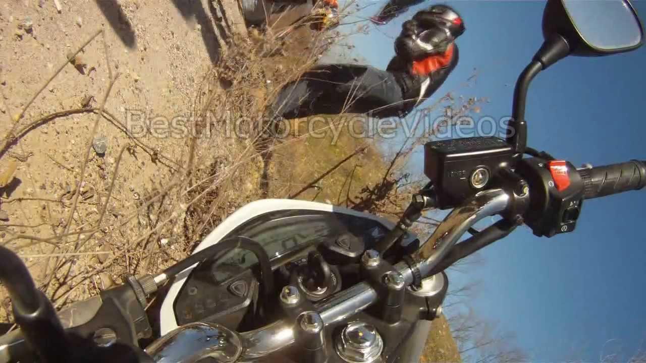 Honda Hornet 600 Crash