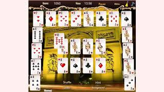 How to play Crescent Solitaire game | Free online games | MantiGames.com