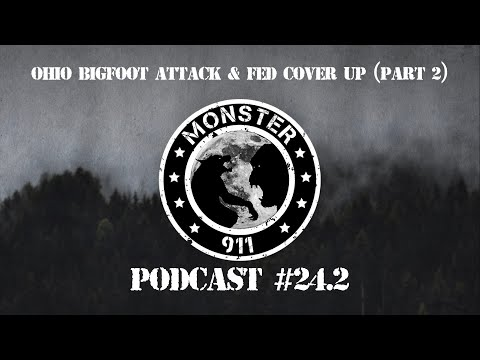 """Ohio Bigfoot Attack & Fed Cover-up"",  Part II--Episode #24--Dogman Sasquatch Oklahoma Encounters"