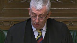 Live: Commons Speaker Lindsay Hoyle makes statement on MP Margaret Ferrier who broke Covid rules
