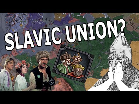 UNIFYING THE SLAVIC BROTHERS? - CK2 LECH, CZECH AND RUS ACHIEVEMENT RUN!