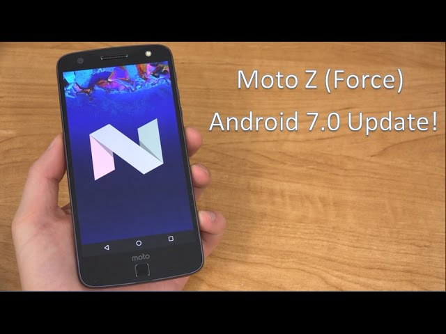 Moto G4 Europe Confirmed Getting Nougat Update This Month