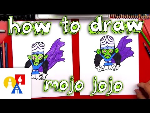 How To Draw Mojo Jojo