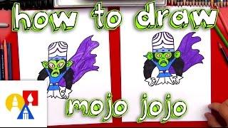 How To Draw Mojo Jojo