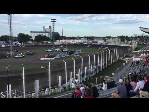 2018 June 1 River Cities Speedway Late model Heat